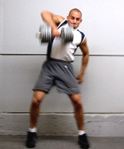 dumbbell snatch